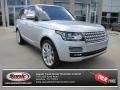 Indus Silver Metallic 2014 Land Rover Range Rover Supercharged