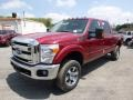 Ruby Red 2015 Ford F250 Super Duty Gallery