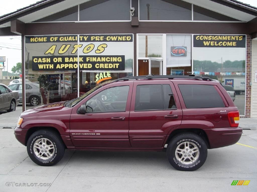 1999 Grand Cherokee Limited 4x4   Sienna Pearl / Camel Photo #1