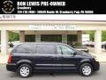 Sapphire Crystal Metallic 2011 Chrysler Town & Country Touring