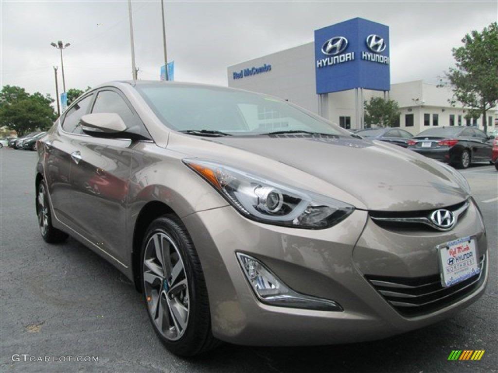 2014 Bronze Hyundai Elantra Limited Sedan 93792832