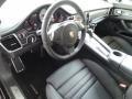 Black 2014 Porsche Panamera Interiors