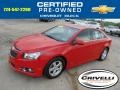 Victory Red 2012 Chevrolet Cruze LT/RS