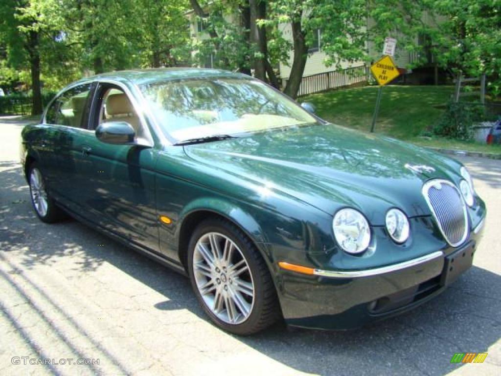 2005 British Racing Green Jaguar S Type 3 0 928454 Photo
