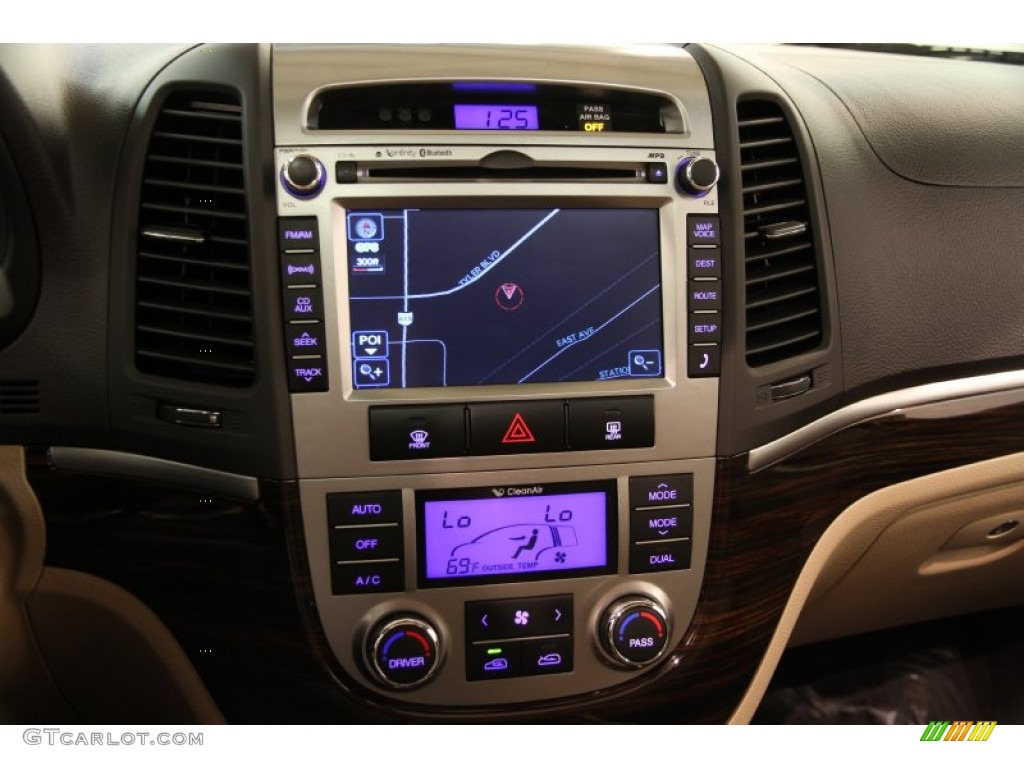 2011 Hyundai Santa Fe Limited Controls Photos Gtcarlot Com