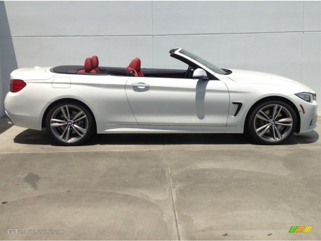 2014 Alpine White Bmw 4 Series 435i Convertible 93869962 Photo 2 Car Color