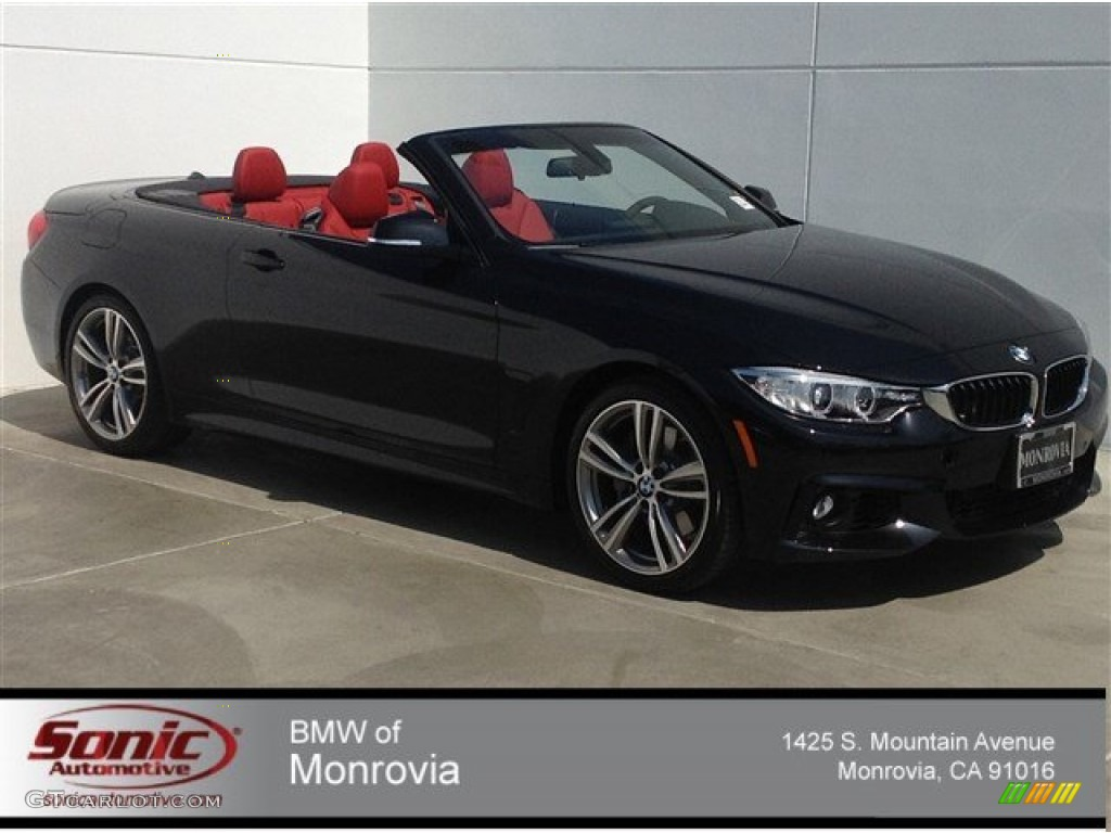 2014 Jet Black Bmw 4 Series 435i Convertible 93869961 Car Color Galleries