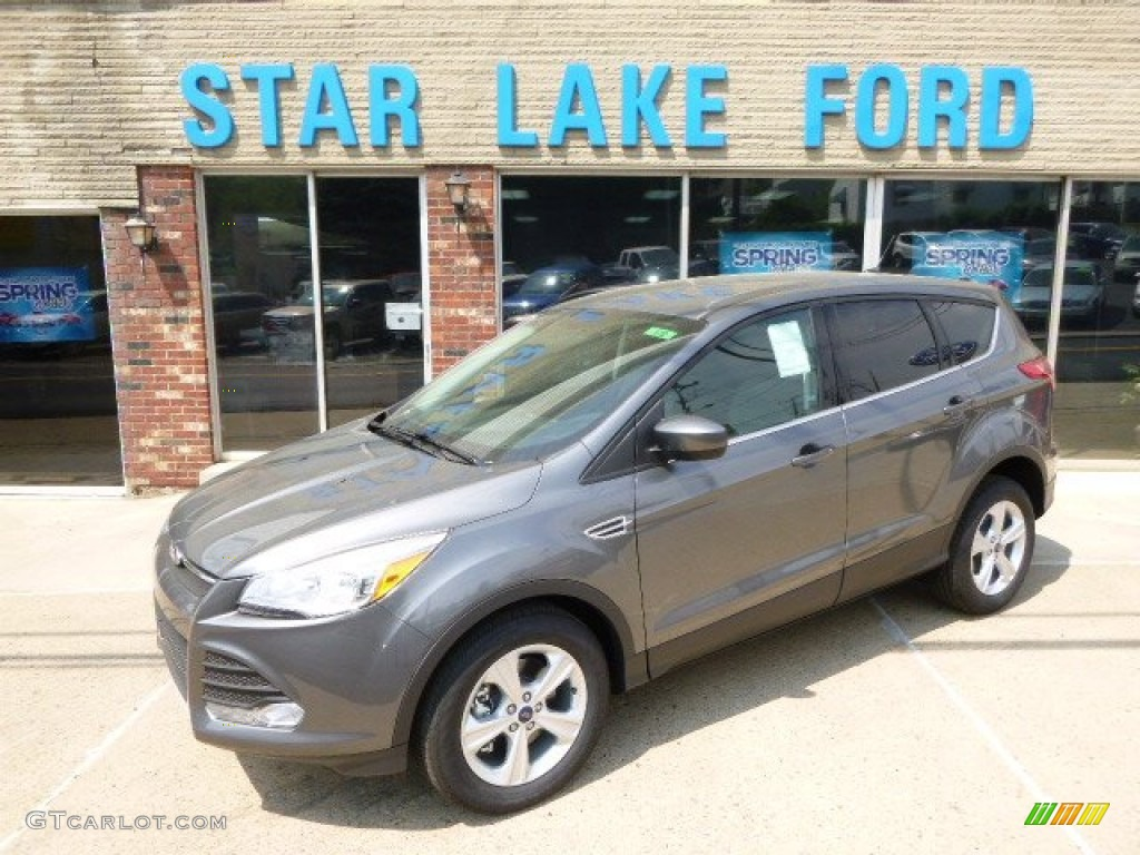 2014 Escape SE 1.6L EcoBoost 4WD - Sterling Gray / Charcoal Black photo #1
