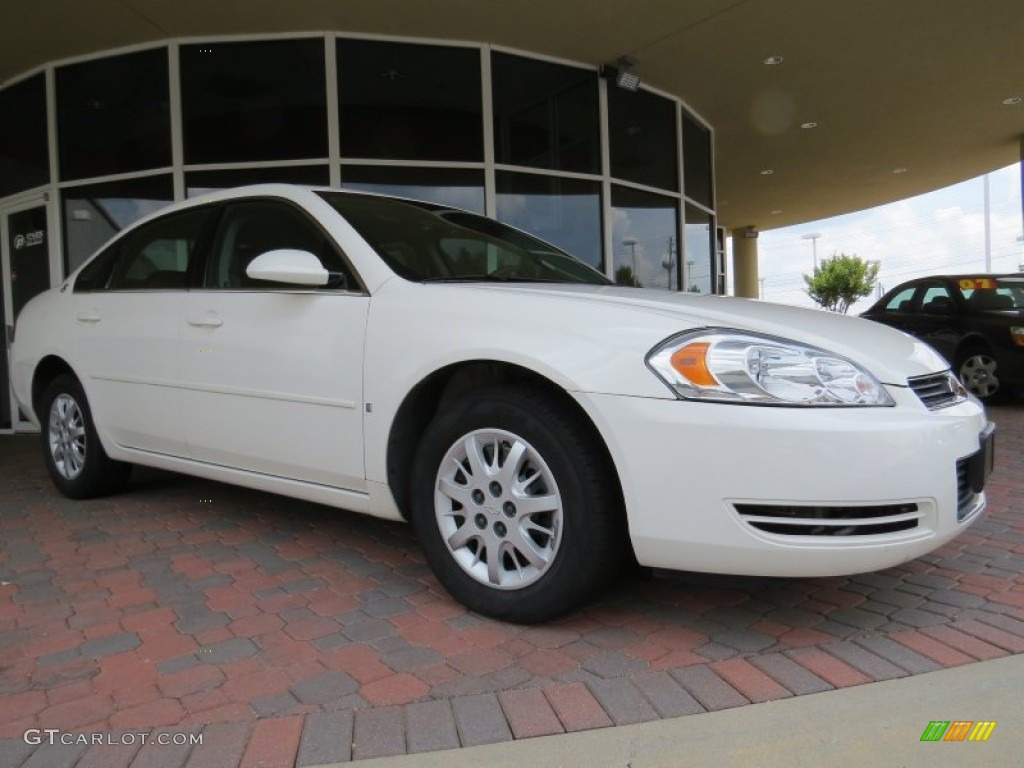 white 2006 chevrolet impala police exterior photo. Black Bedroom Furniture Sets. Home Design Ideas
