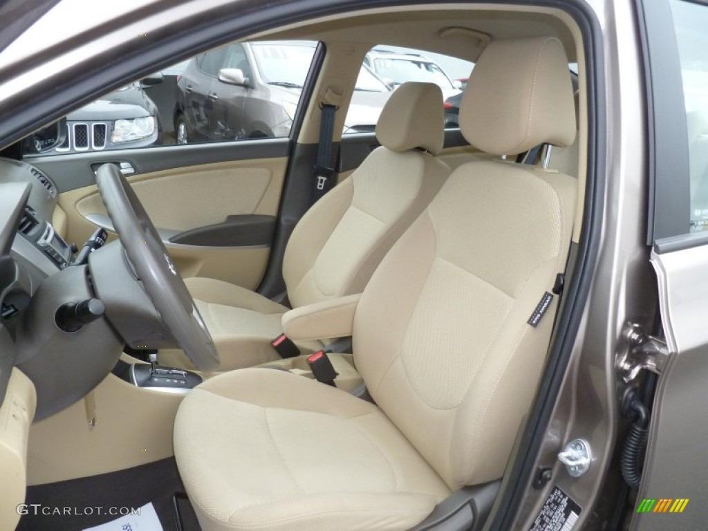 2013 Hyundai Accent Gls 4 Door Interior Color Photos