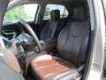 Jet Black/Brownstone Interior Photo for 2010 Chevrolet Equinox #93930251