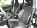 2011 Subaru Impreza STI  Black/Alcantara Interior Front Seat Photo