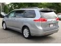 2012 Silver Sky Metallic Toyota Sienna XLE AWD  photo #5
