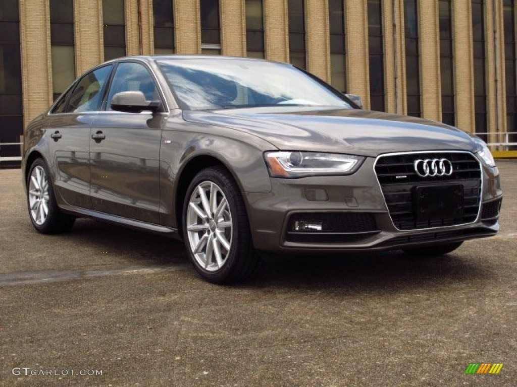 Dakota Grey Metallic 2014 Audi A4 2 0t Quattro Sedan