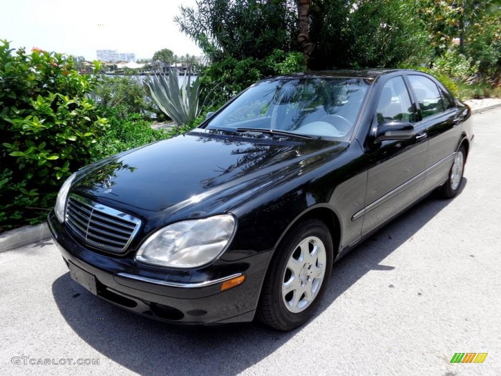 Black 2000 mercedes benz s 430 sedan exterior photo for Mercedes benz s 430