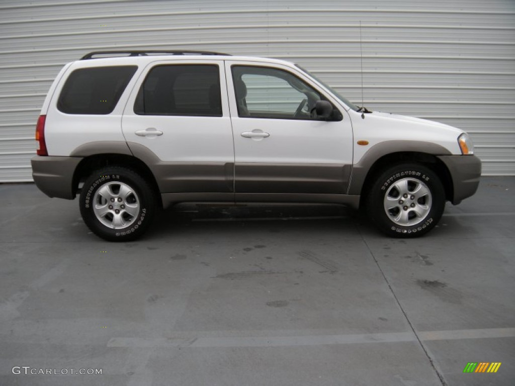 classic white 2003 mazda tribute lx v6 exterior photo. Black Bedroom Furniture Sets. Home Design Ideas