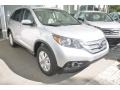 2014 Alabaster Silver Metallic Honda CR-V EX-L  photo #1