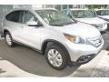 2014 Alabaster Silver Metallic Honda CR-V EX-L  photo #4