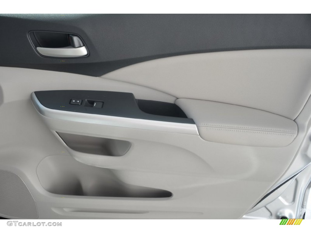 2014 CR-V EX-L - Alabaster Silver Metallic / Gray photo #21