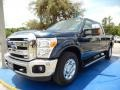 Blue Jeans 2015 Ford F250 Super Duty Lariat Crew Cab