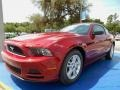 2014 Ruby Red Ford Mustang V6 Coupe #93983539