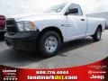2014 Bright White Ram 1500 Tradesman Regular Cab #93983659