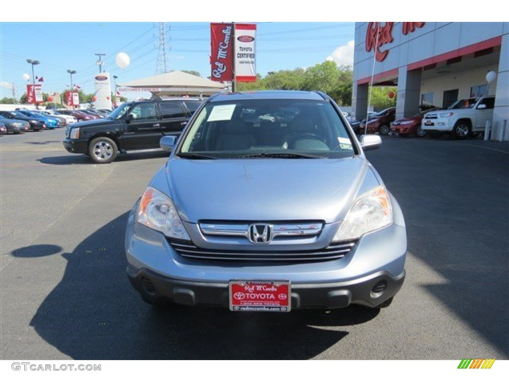 2008 CR-V EX-L - Royal Blue Pearl / Gray photo #2