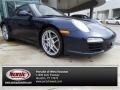 Dark Blue Metallic 2011 Porsche 911 Carrera Cabriolet