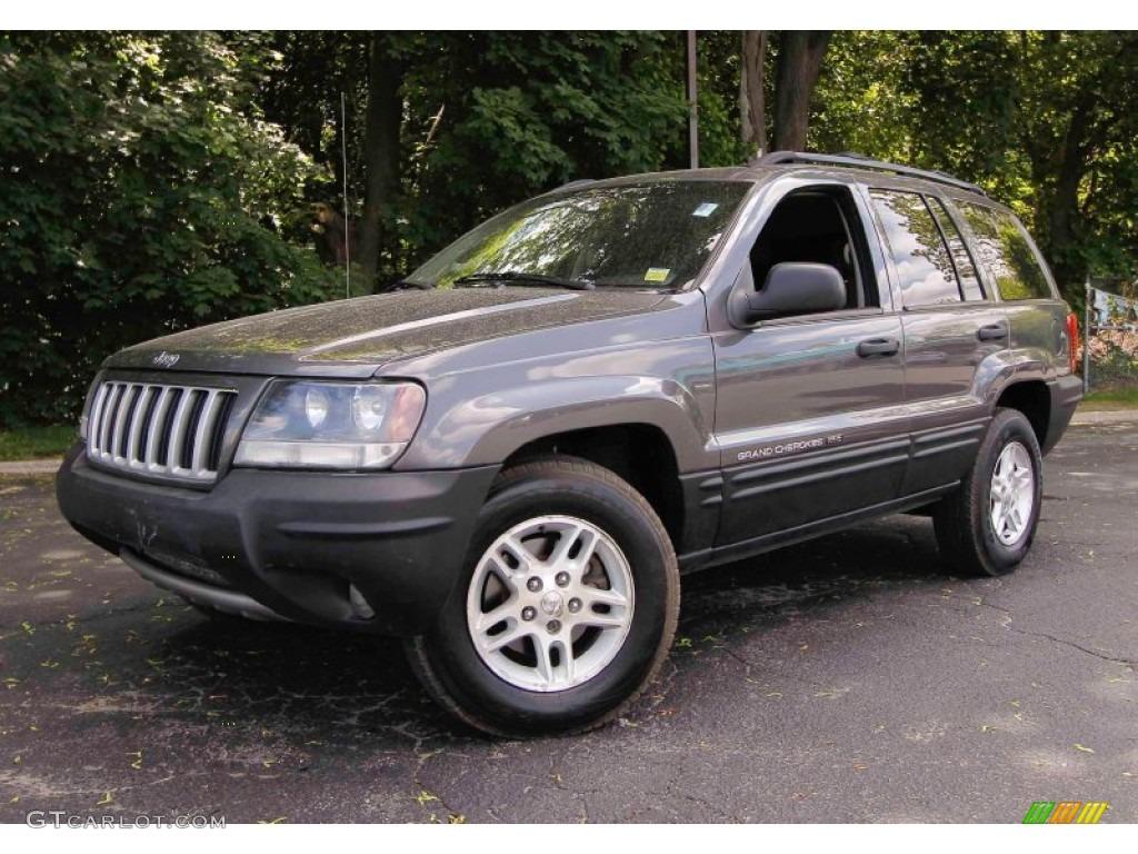 2004 graphite metallic jeep grand cherokee laredo 4x4. Black Bedroom Furniture Sets. Home Design Ideas