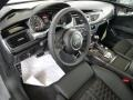 2014 RS 7 4.0 TFSI quattro Black Valcona Leather w/Honeycomb Stitching Interior
