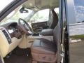 Canyon Brown/Light Frost Beige 2014 Ram 3500 Interiors