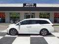 White Diamond Pearl 2014 Honda Odyssey Touring Elite