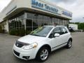 White Water Pearl 2009 Suzuki SX4 Crossover Touring AWD