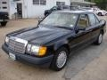 Black 1989 Mercedes-Benz E Class 300 E Sedan