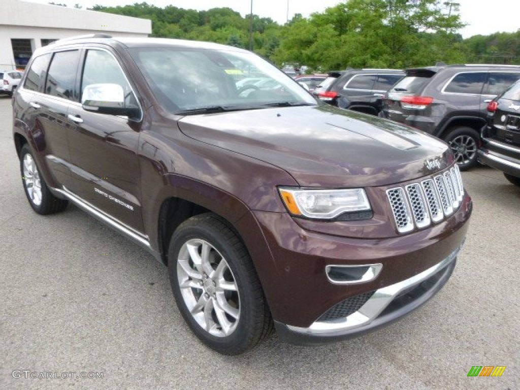 Deep Auburn Pearl 2014 Jeep Grand Cherokee Summit 4x4 ...