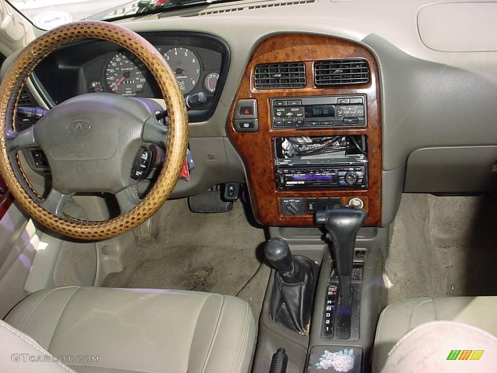 1997 qx4 4x4 dark olive pearl beige photo 16