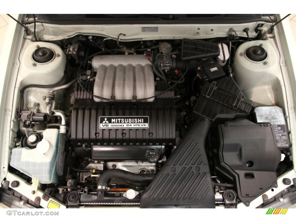 2001 Mitsubishi Diamante LS Engine Photos | GTCarLot.com