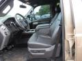 2012 Pale Adobe Metallic Ford F250 Super Duty Lariat Crew Cab 4x4  photo #11