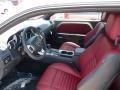 2014 Dodge Challenger Dark Slate Gray/Radar Red Interior Interior Photo