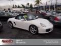 Carrara White 2007 Porsche Boxster Gallery