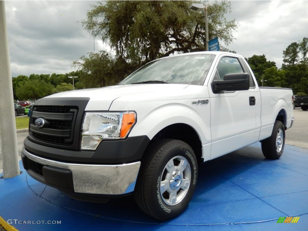 2014 oxford white ford f150 xl regular cab 94133519 photo 2 car color galleries. Black Bedroom Furniture Sets. Home Design Ideas