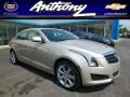 Silver Coast Metallic 2014 Cadillac ATS 2.0L Turbo AWD
