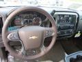 2014 Chevrolet Silverado 1500 Cocoa/Dune Interior Steering Wheel Photo