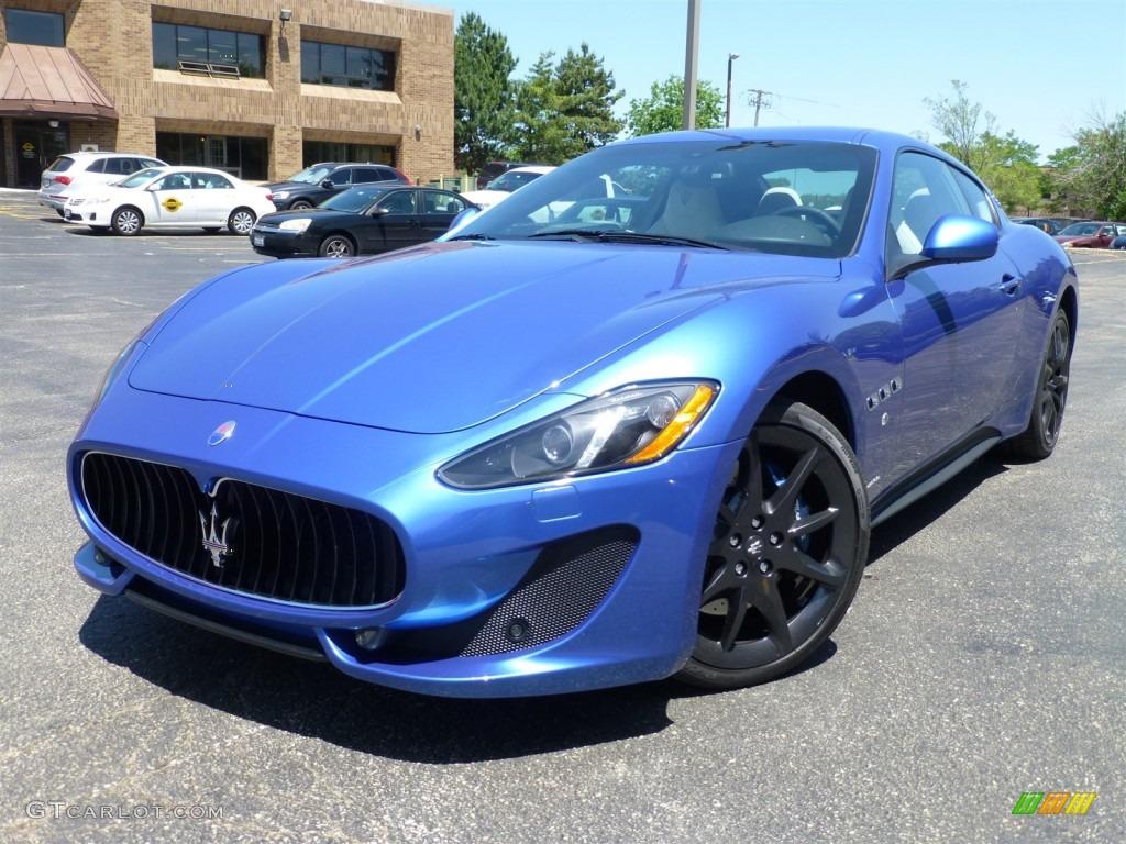 Blu Sofisticato Sport Blue Metallic 2014 Maserati