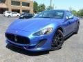 Blu Sofisticato (Sport Blue Metallic) 2014 Maserati GranTurismo Sport Coupe