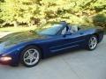 LeMans Blue Metallic 2004 Chevrolet Corvette Convertible