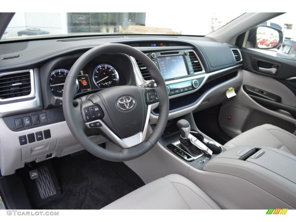 2014 Toyota Highlander Interior Ash The Image Kid Has It