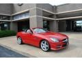 Mars Red 2012 Mercedes-Benz SLK 350 Roadster
