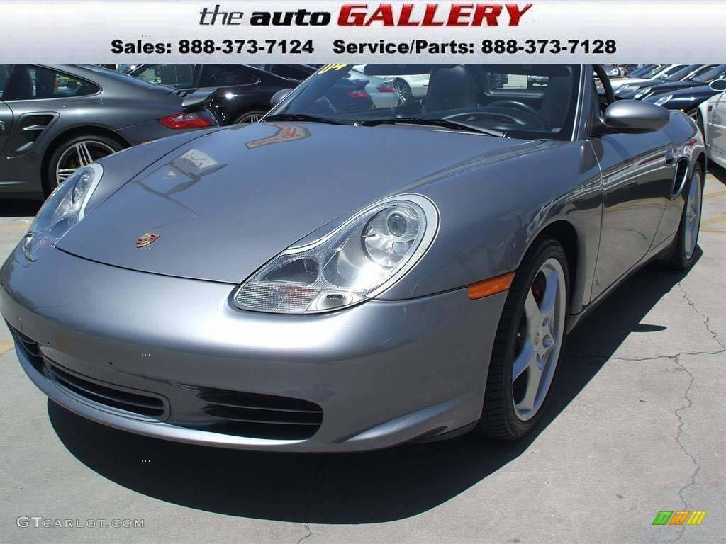 2004 seal grey metallic porsche boxster s 924619. Black Bedroom Furniture Sets. Home Design Ideas