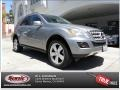 Palladium Silver Metallic 2011 Mercedes-Benz ML 350